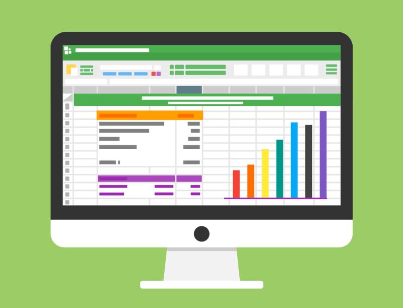 実績データを表すデータのイメージ画像