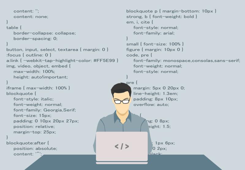 プログラマのイメージ画像