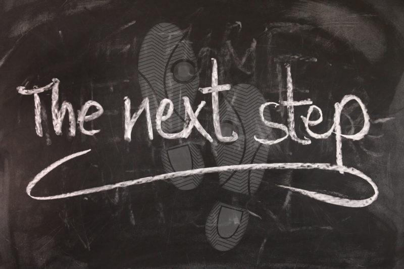 はじめて期間を短くして生産性を上げるイメージ画像The next step