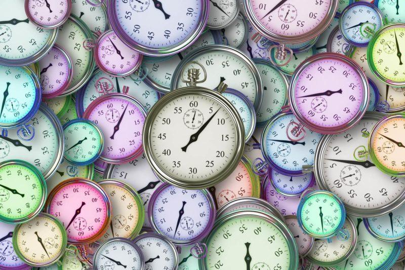1個のタスクに時間を掛ける意味はなしの時間イメージ図