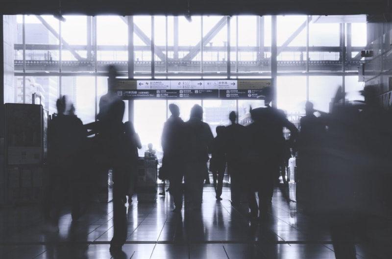 駅の移動イメージ画像