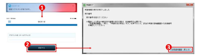 GビズIDのアプリ認証手順