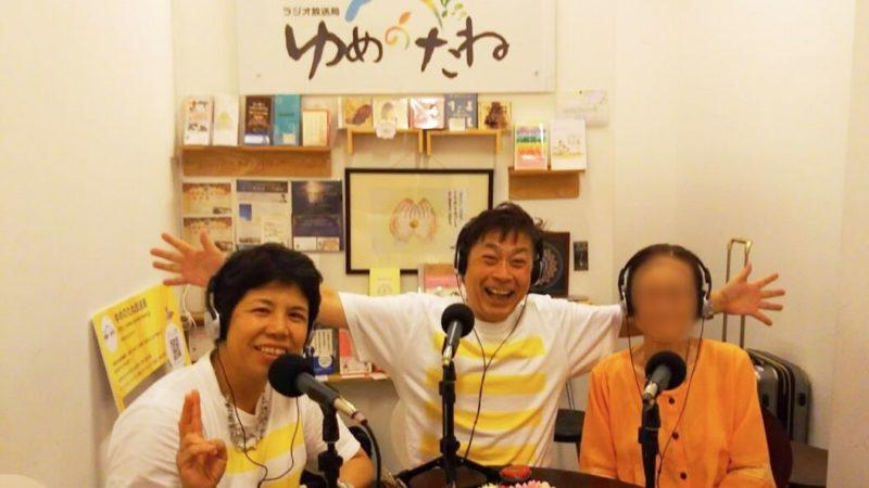 野口健・ひとみさん自身の番組を東京スタジオで収録の様子