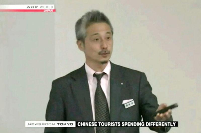 NHK World 研修風景取材の様子
