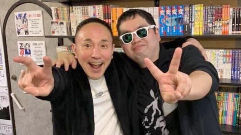 「たっちん」さんと松山社長の2ショット写真