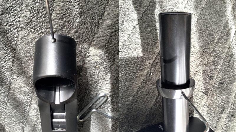 Amazonベーシック モニターアーム シングル ディスプレイタイプの2.5mmのアレンレンチ(六角レンチ)を使う場所