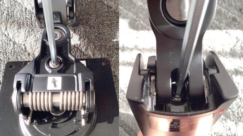 Amazonベーシック モニターアーム シングル ディスプレイタイプの4mmのアレンレンチ(六角レンチ)を使う場所